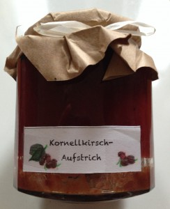 Kornelkirsch-Marmelade (Copyright: wilderwegesrand.de)