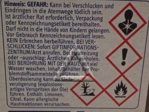 Warnhinweise (Copyright: wilderwegesrand.de)