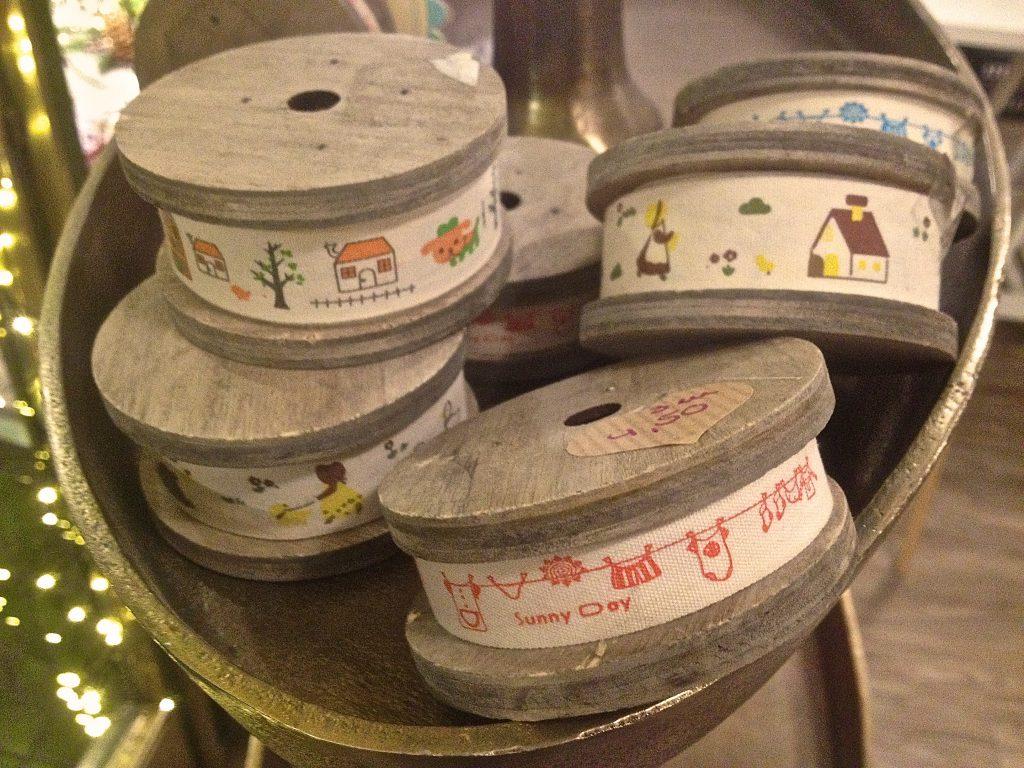 Stoffbänder aus Baumwolle (Copyright: wilderwegesrand.de)