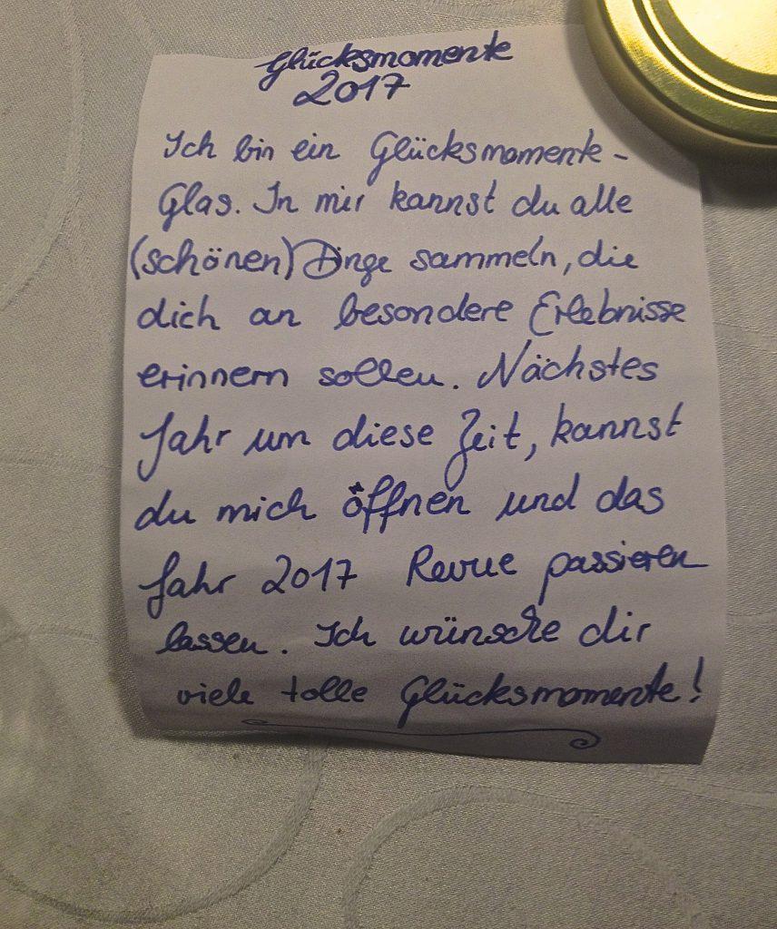 Gebrauchsanleitung Glücksglas (Copyright: wilderwegesrand.de)