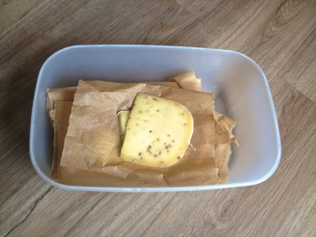 Käse in Tupperware (Quelle: wilderwegesrand.de)