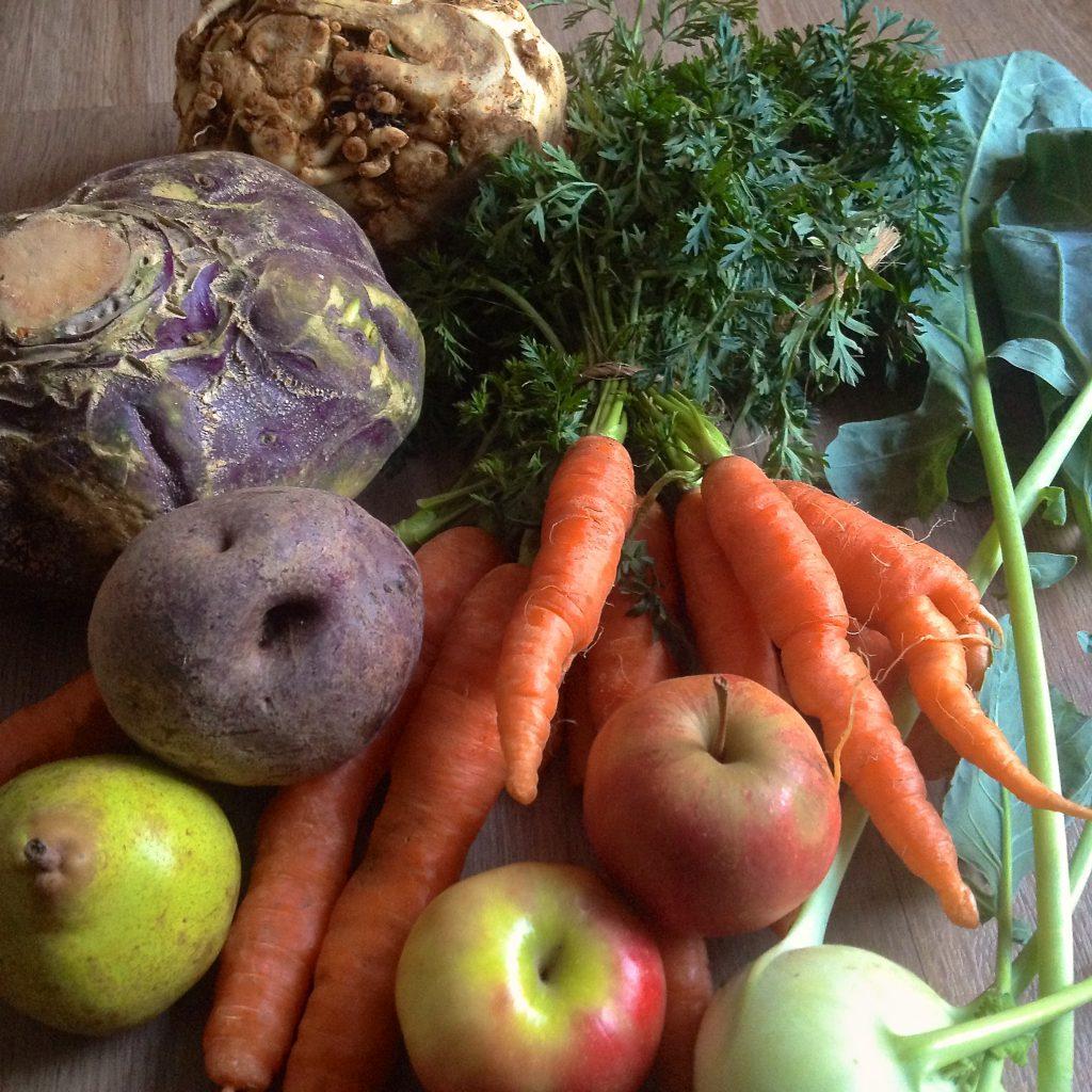 Gemüsevielfalt vom Markt (Copyright: wilderwegesrand.de)