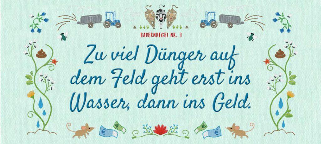 Neue Bauernregeln Duenger (Copyright: BMUB)