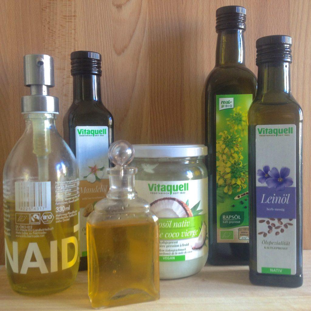 Öl-Flaschen (Copyright: wilderwegesrand.de)