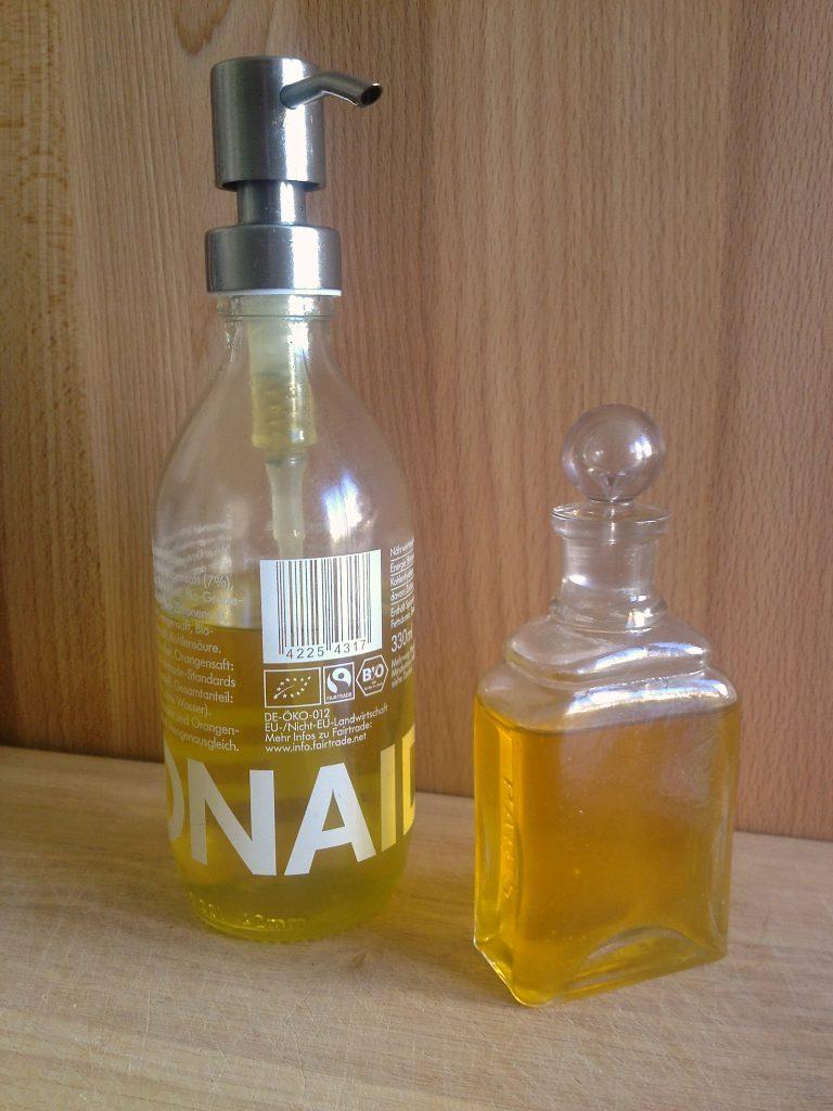 Öl für kosmetische Anwendungen (Copyright: wilderwegesrand.de)