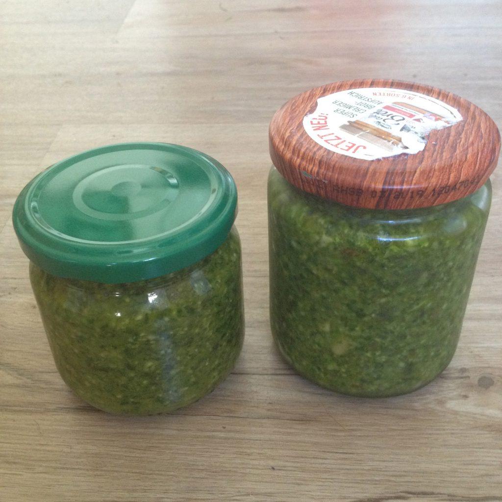 Pesto mit Radieschenblättern (Copyright: wilderwegesrand.de)