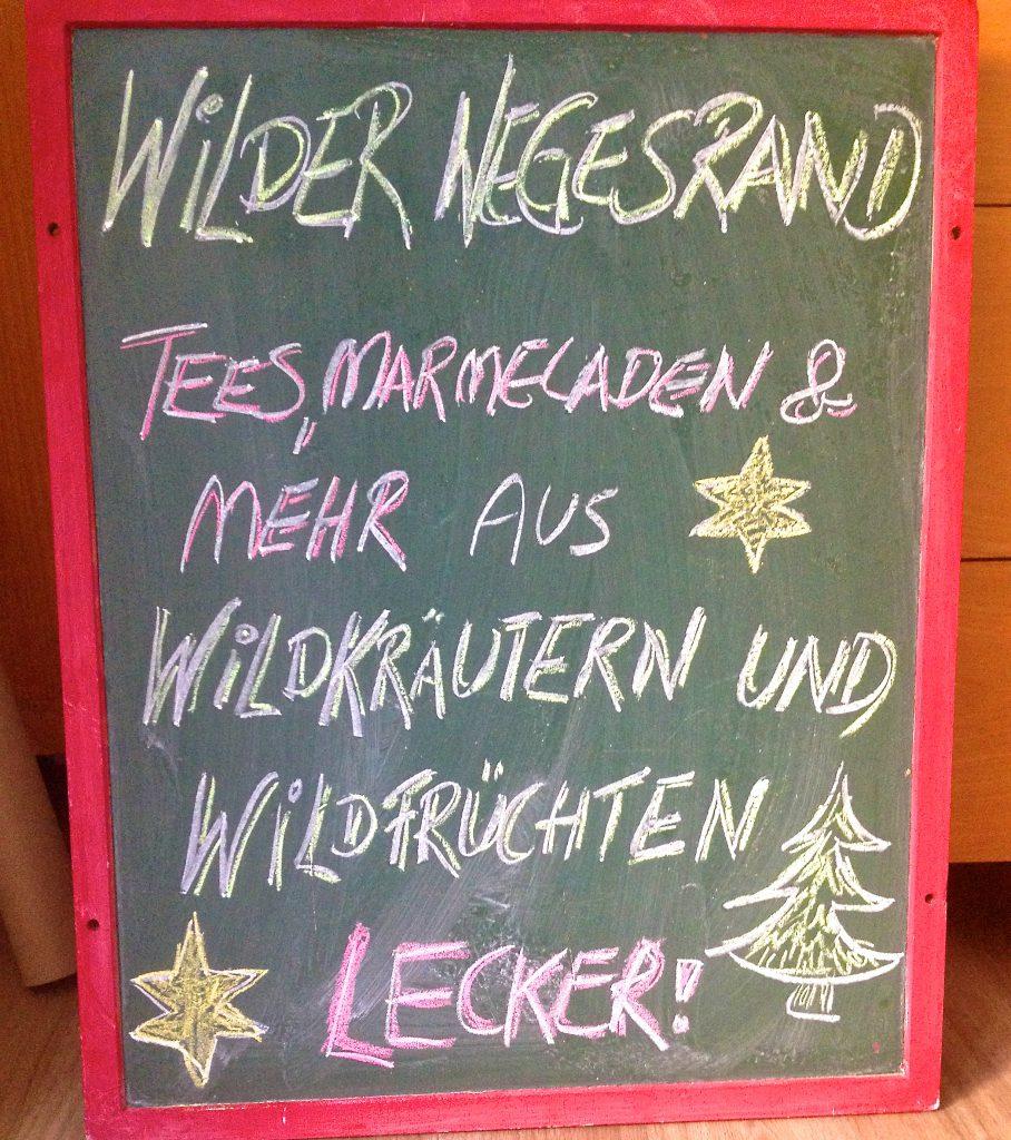 Tafel Wilder Wegesrand (Copyright: wilderwegesrand.de)