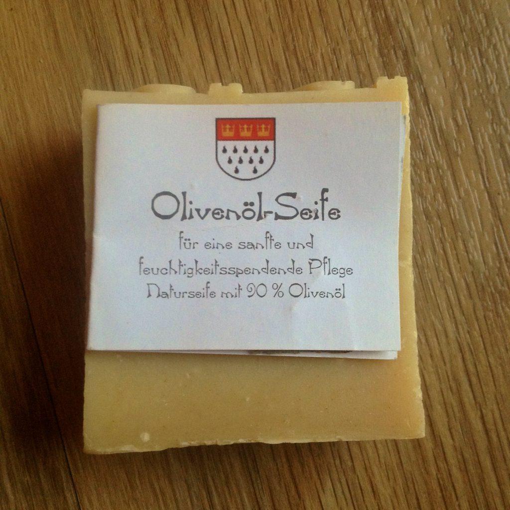 Olivenöl-Seife (Copyright: wilderwegesrand.de)