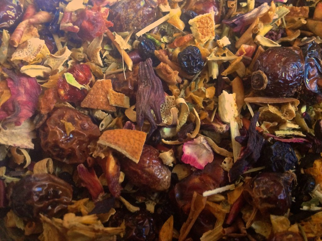 Früchte-Tee (Copyright: wilderwegesrand.de)