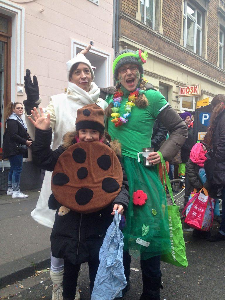 Verkleidung zu Karneval (Copyright: wilderwegesrand.de)