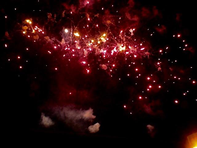 Feuerwerk (Copyright: wilderwegesrand.de)