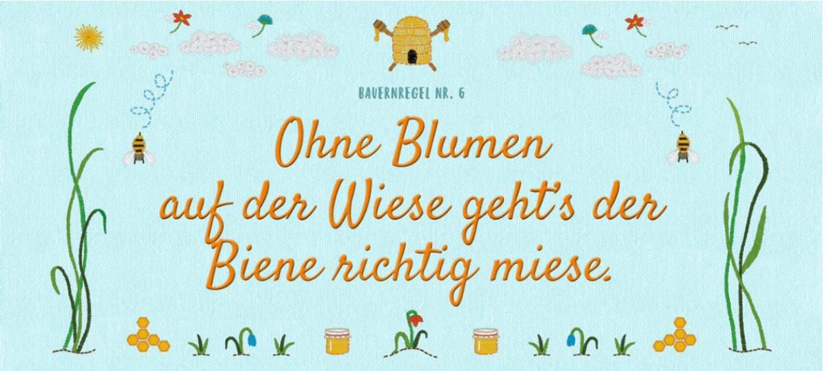 Bienen-Regel (Copyright: BMUB)